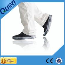 Non slip shoe covers for shoe cover dispenser