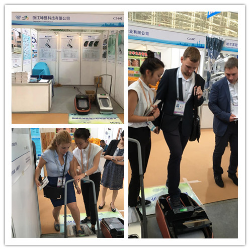 Quen Auto Shoe Cover Machine Was Demonstrated At CHINA-RUSSIA EXPO
