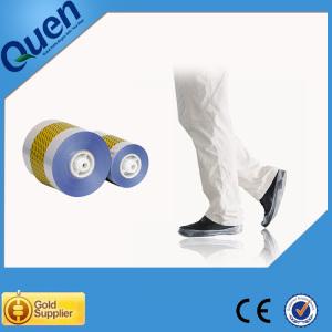 Automatic shoe cover dispenser for food factory