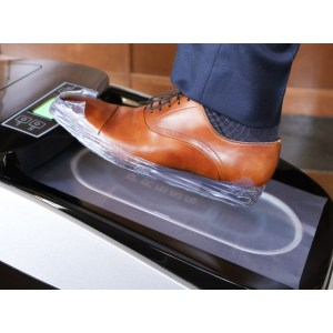 Automatic Shrink Wrap Shoe Cover Machine