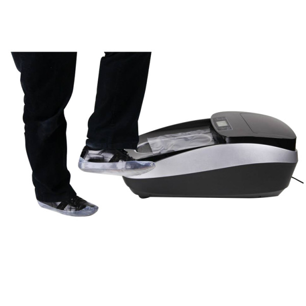 Automatic shoe cover machine for medical use