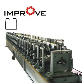 Sliding Door Profile Roll Forming Machine