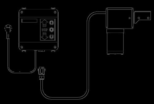 Upper Sliding Gate Motor