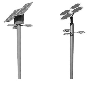 Solar landscaple light/Three lamp heads