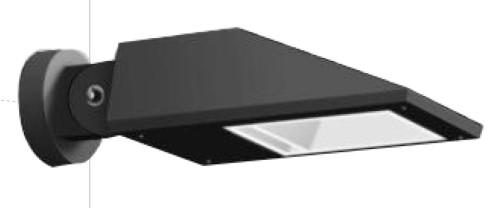 Wall lamp custom wall mouted light outdoor aluminum IP65 modern design Cree/Bridgelux Led module18W/27W/36W COB LED 10W  WD-B297