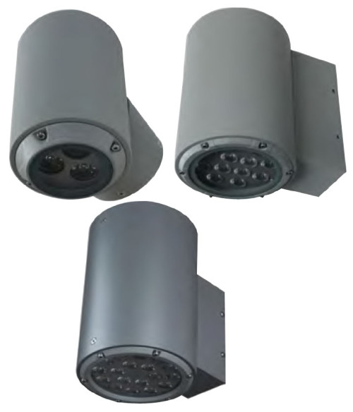 Wall lamp outdoor wall mounted light cylinder-shaped wall sconce wall luminaire a luminum CREE/Bridgelux LED 6W/12W/24W concise modern styleφ150*H240mm/φ150*H230mm/φ200*300mm aluminum IP65 cWD-B198/WD-B198-A/WD-B198-B