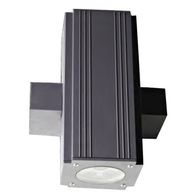 Wall lamp outdoor lights customized cube-shaped up and down light wall mounted light LED3W/6W/9W COB5W/10W/ 200*160*H270mm  aluminum concise modern style WD-B185