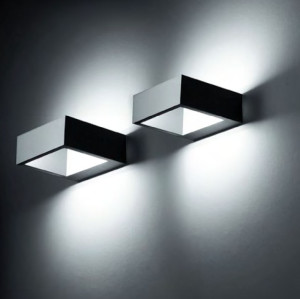 hot-sales Wall lamp outdoor lights custom wall  mouted light modern design square-shape up-down light WD-B230