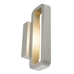 Wall lamp  modern design customized  LED  9W/12W/18W rectangle-ring shape up down wall mouted light  aluminum IP65 WD-B232