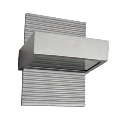 Wall lamp  custom outdoor wall mouted light modern design  square-ring shape up down light WD-B117
