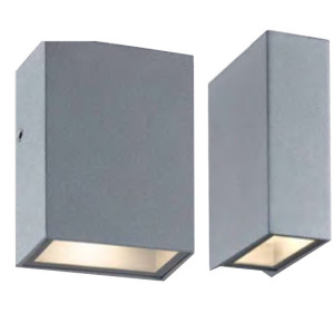 Wall lamp outdoor wall mounted light cubic wall sconce wall luminaire aluminum 180*90*260mm LED 4W/8W/12W concise modern style aluminum IP65 customized WD-B286