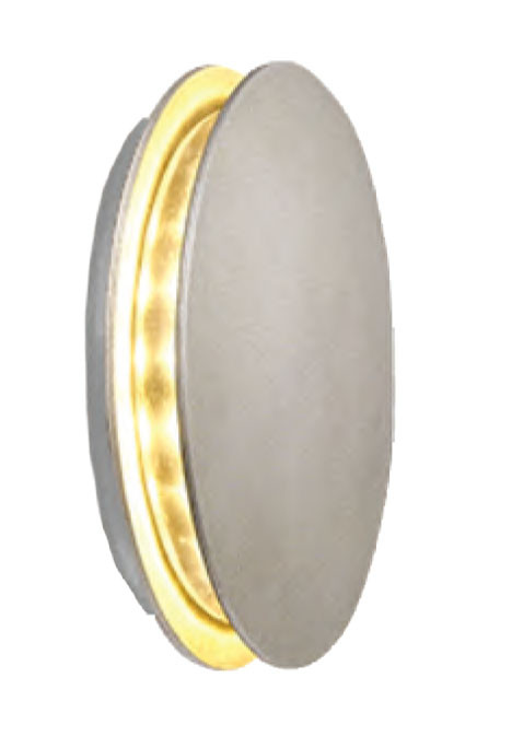 Wall lamp outdoor wall mounted light round head round light wall sconce wall luminaire aluminum LED 6W concise modern style aluminum IP65 customized WD-B200