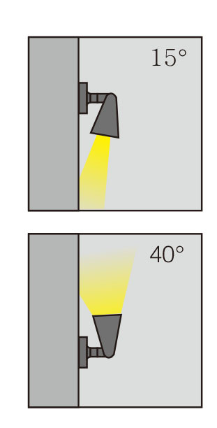 Wall lamp outdoor wall mounted light wall sconce wall luminaire aluminum LED 3W/6W/9W COB 5W/10w concise modern style WD-B193 up or down rotated light aluminum IP65 customized