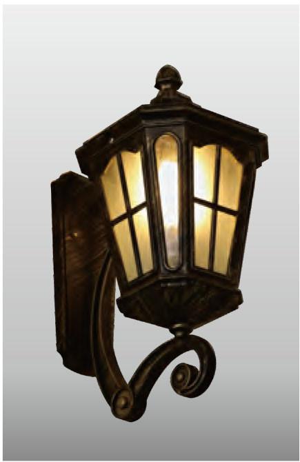 TFB Vintage Sconce Wall lamp custom non-standard outdoor retro wall mounted light CREE Bridgelux LED European style for Home Gate Doorway Porch Hallway aluminum tempered glass diffuser WD-B074-A
