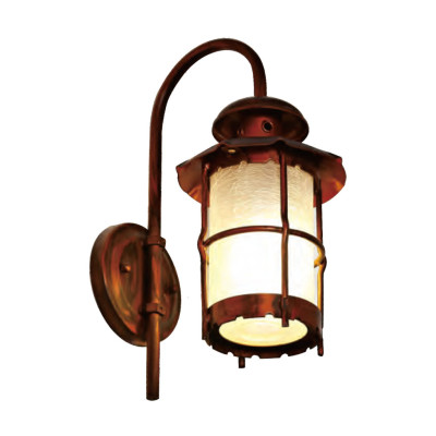 TFB Wall light wall luminaire custom non-standard outdoor wall mounted light LED ball lamp E27 CFL E27 European classical style Sconce for Home Gate Doorway Porch Hallway Lighting aluminum/stainless steel PMMA/PC/explosion-proof glass WD-B051