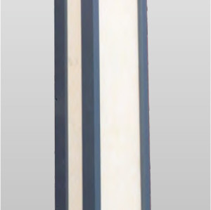 Wall light long wall luminaires custom non-standard  outdoor wall mounted light Cree Bridgelux LED Classical style aluminum/stainless steel scagliola PMMA WD-B256