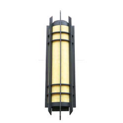 vintage wall light  custom non-standard outdoor decoration wall mounted light CREE Bridgelux SMD LED T5 european style  aluminum/stainless steel PMMA/scagliola diffuser long  cylinder-shaped WD-B005