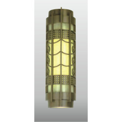 TFB Wall lamp  custom non-standard outdoor decoration wall mounted light CREE Bridgelux SMD LED T5 european style  aluminum/stainless steel PMMA/scagliola diffuser  cylinder-shaped WD-B006