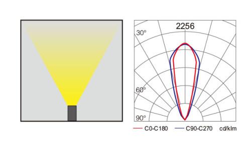 Linear wallwahser light