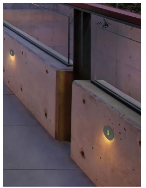 Wall lamp  customized round wall corner lamp