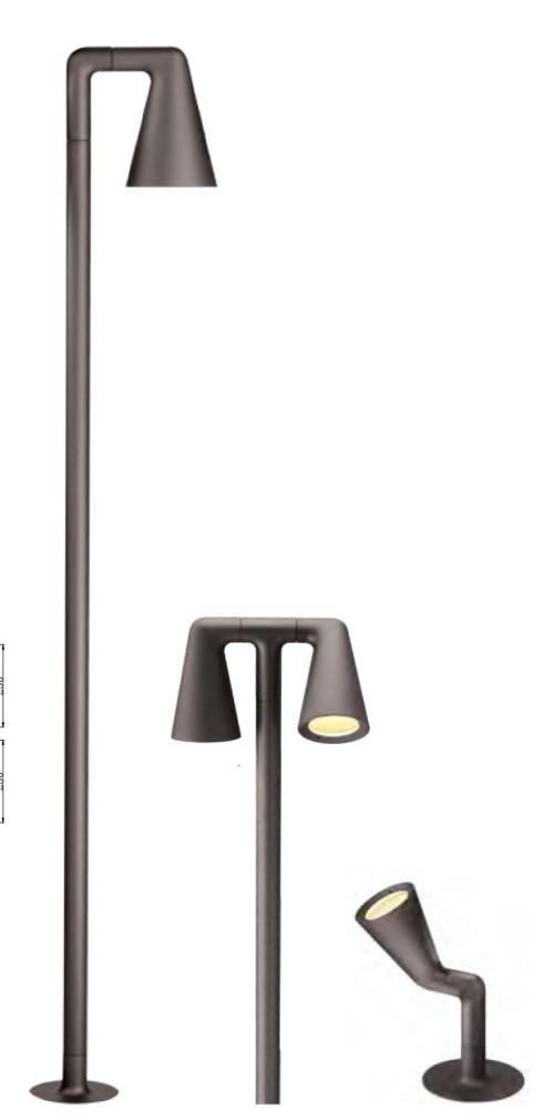 Lawn lamp bollard light custom outdoor lighting LED module 6W/12W/18W COB LED 10W/15W/20W popular design modern style hot sale WD-C222