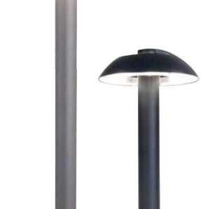 Lawn lamp Bollard light mushroom light head modern design concise style φ190*H700mm LED module 6W/9W/12W WD-C073