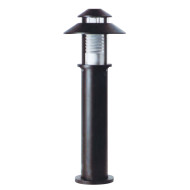Bollard light concise design modern style with round cap with same series of pole lamp WD-C012