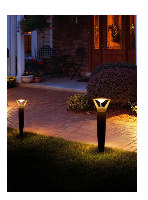 Lawn lamp bollard light round cap modern design  COB LED 5W/10W/20W WD-C043