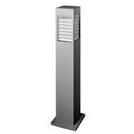 Lawn lamp LED module 5W/10W/15W CFL E27 16W/18W/23W modern design concise style bollard light W150*L150*H800mm Aluminum+PMMA WD-C126
