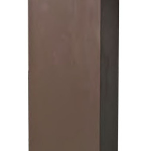 TFB Lawn lamp bollard light aluminum modern concise design Cube external flange W150*L150*H800mm LED module 6W/9W/12W CFL E27 16W/18W/23W WD-C275