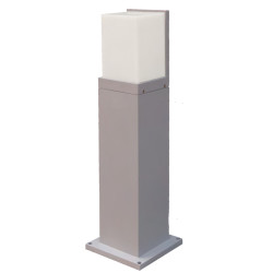Lawn lamp bollard light modern concise design W150*L150*H727mm imitation marble/PMMA+aluminum IP55 WD-C145