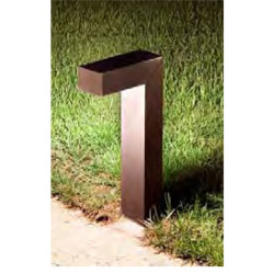 Lawn lamp bollard light modern concise design W70*L200H500mm LED module 6W/9W/12W aluminum+tempered glass WD-C294