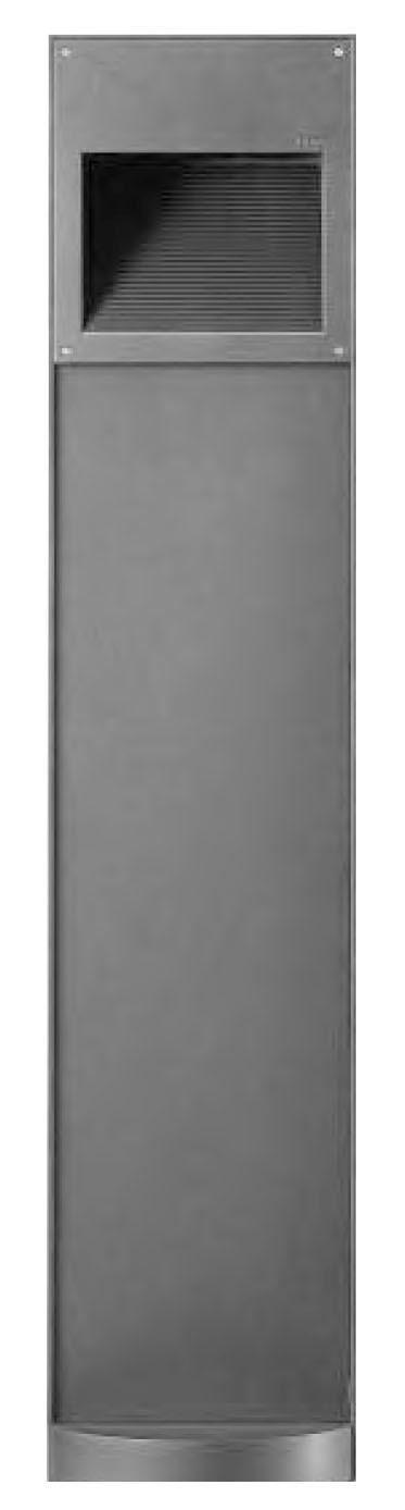 Lawn lamp bollard light popular modern concise design cube aluminum/stainless steel LED module 6W/9W   WD-C278