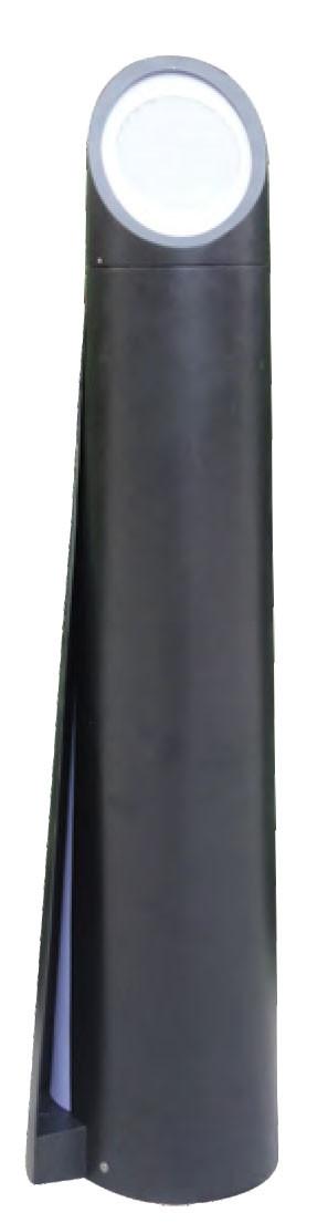 Lawn lamp bollard light modern concise design up-light side-light  W152*H1000mm LED module 6W/9W/12W SMD LED 6W WD-C283