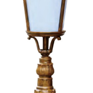 Lawn lamp bollard light middle age classic vetro style European CFL E27 13W/16W/18W aluminum+glass  WD-C285