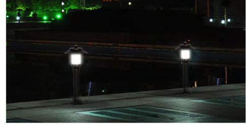 Lawn lamp bollard light classic vetro style aluminum+imitation marble/PMMA φ220*H550mm WD-C175/WD-C175-A