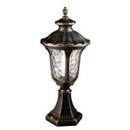 Lawn lamp bollard light middle age classic vetro style European CFL E27 13W/16W/18W die-cast aluminum+extruded glass/PMMA WD-C236