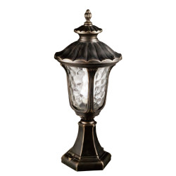 Lawn lamp bollard light middle age classic vetro style European CFL E27 13W/16W/18W die-cast aluminum+extruded glass/PMMA WD-C236