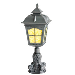 Lawn lamp bollard light middle age classic vetro style European CFL E27 13W/16W/18W die-cast aluminum+extruded glass/PMMA WD-C291