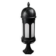 Lawn lamp bollard light custom outdoor lights classice vetro style LED module 9W/12W/18W CFL E27 18W/23W aluminum+PMMA/imitation marble D245*H826mm WD-C380