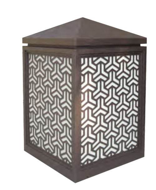 Bollard light Lawn light  W500*L500*H850mm classical style LED 24W E27 23W aluminum/stainless steel+faux marble WD-C367