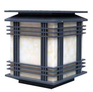 Bollard light Lawn light  W450*L450*H400mm modern style LED 24W  E27 23W  aluminum/stainless steel+faux marble WD-C202