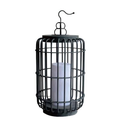 Lawn lamp Lantern suspension hanged bollard light LED module 3W/6W/12W D300*H676 Hot-dip galvanizing steel/stainless steel faux marble PMMa WD-C318