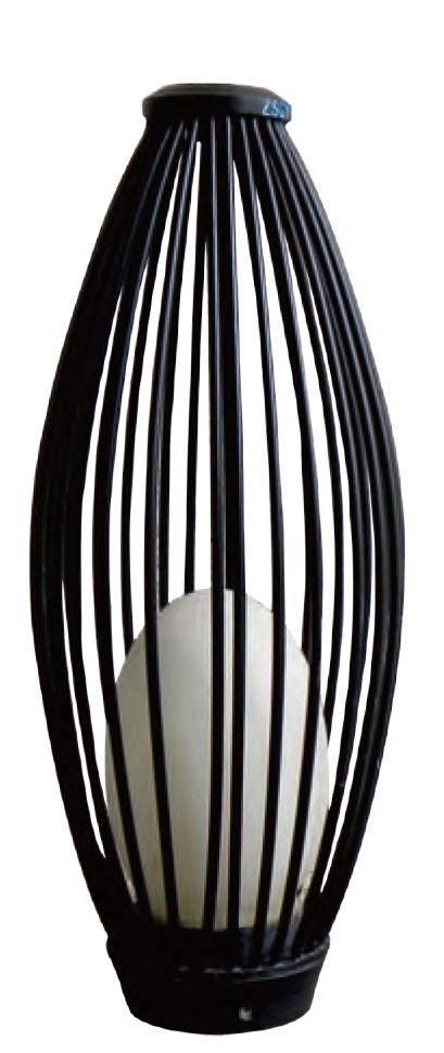 Lawn lamp Lantern bollard light LED module 3W/6W/12W D215*H505 Hot-dip galvanizing steel/stainless steel faux marble PMMA WD-C316