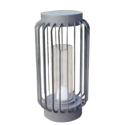 Lawn lamp Lantern bollard light LED module 3W/6W/12W D354*H685 Hot-dip galvanizing steel/stainless steel  faux marble PMMa WD-C197