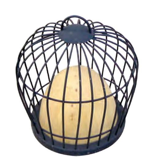 Lawn lamp Lantern bollard light hot-dip galvanizing steel/stainless steel  D490*H500mm faux marble/PMMA WD-C297