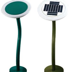 Lawn lamp solar energy solar system bollard light D250 LED module 3W~6W aluminum+stainless steel+PC IP55 WD-C161