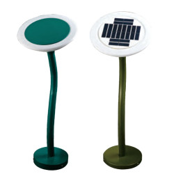 Lawn lamp solar energy solar system bollard light D250 LED module 3W~6W aluminum+stainless steel+PC IP55 WD-C161