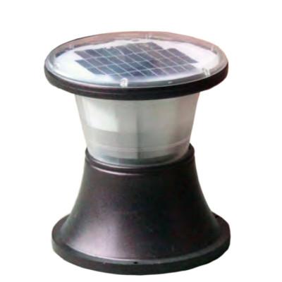 Lawn lamp solar energy solar system bollard light round circle head D328*H390 LED module 3W/9W/12W aluminum+PC WD-C522