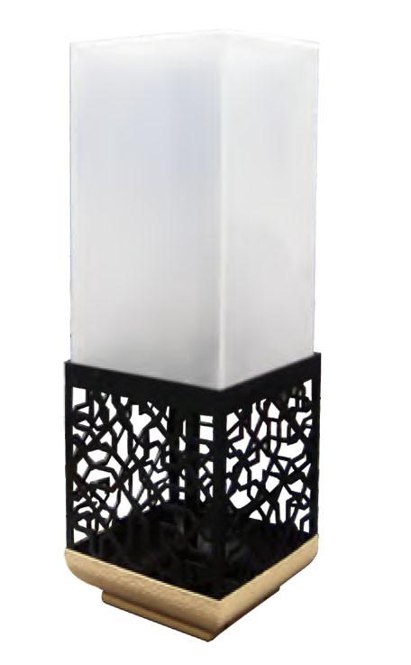 Lawn lamp bollard light  hollow pattern faux marble LED Module 3W/6W outdoor custom lights WD-C511